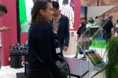 """Mme Brunarius, journaliste France télévision et coordinatrice d' """"Entre deux mondes"""""""