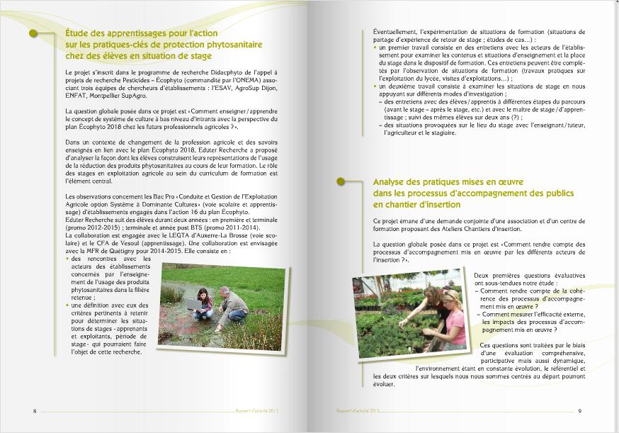 Rapport Eduter 2013