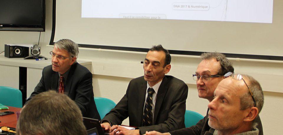 Intervention de Philippe Schnäbele devant les DR-TIC en séminaire à Eduter
