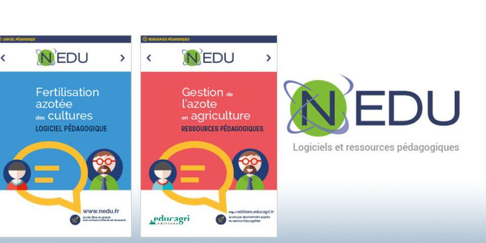 Nedu : logiciels et ressources pédagogiques