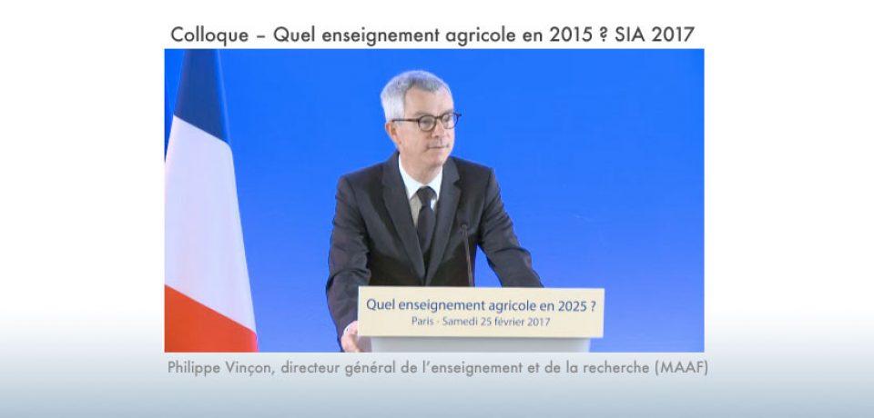 En ligne sur Canal Eduter : le colloque « Quel enseignement agricole en 2025 ?