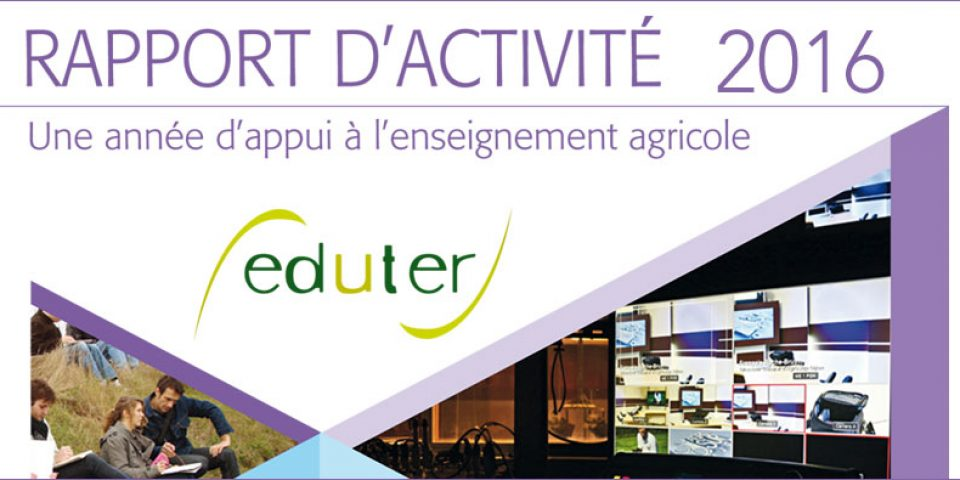 Eduter : Rapport d'activité 2016