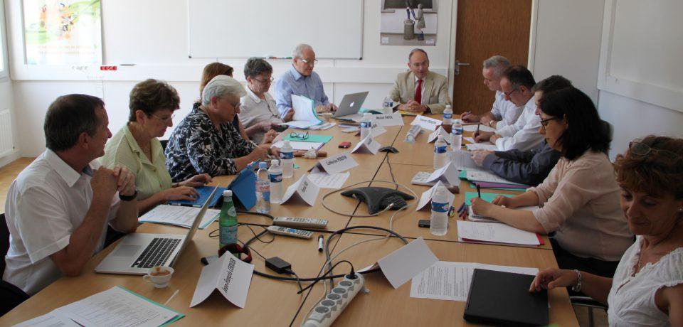 Comité national d'expertise de l'innovation pédagogique en réunion à AgroSup Dijon