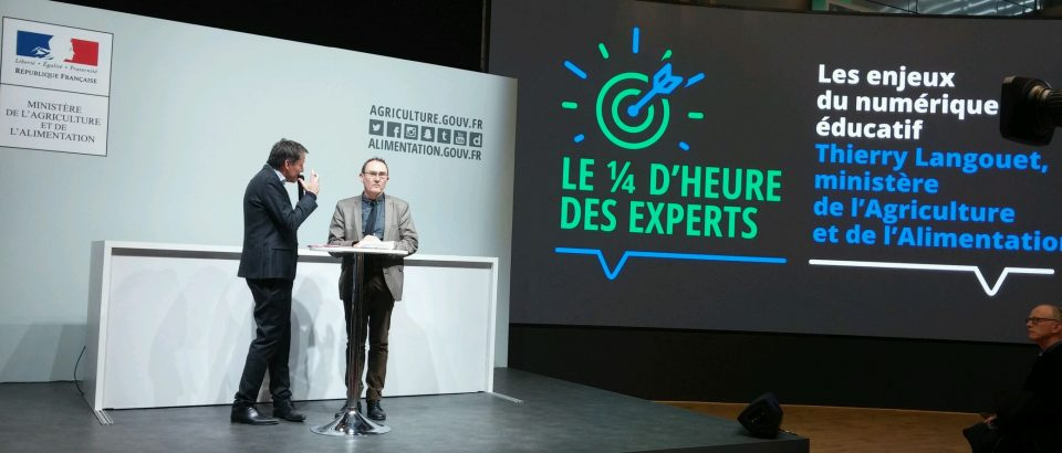 SIA 2018 : Les enjeux du numérique éducatif