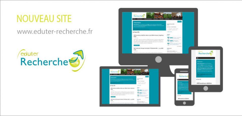 Nouveau site responsive Eduter Recherche