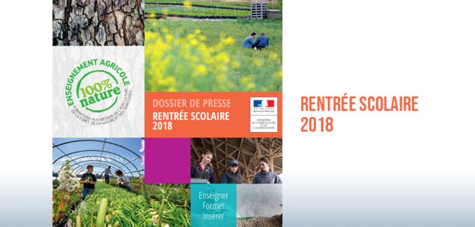 Enseignement agricole : rentrée 2018