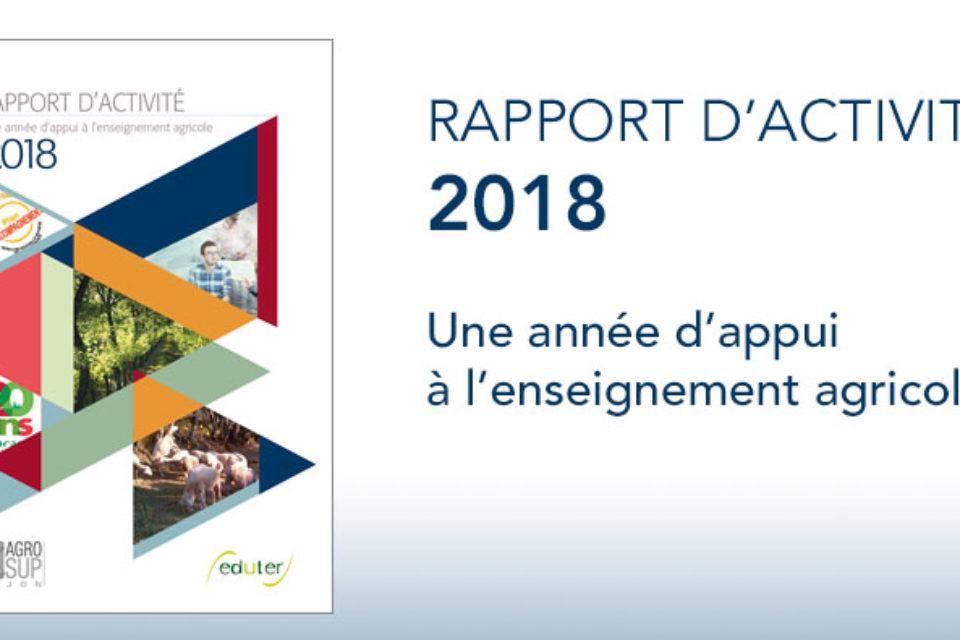 Eduter : Rapport d'activité 2018