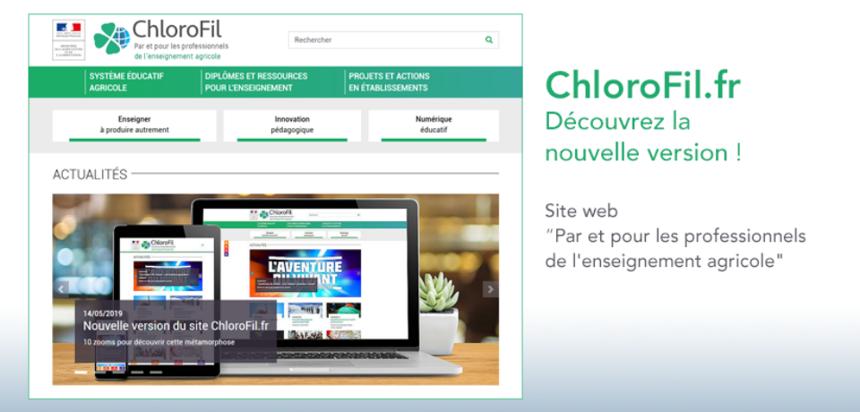 Chlorofil.fr nouvelle version