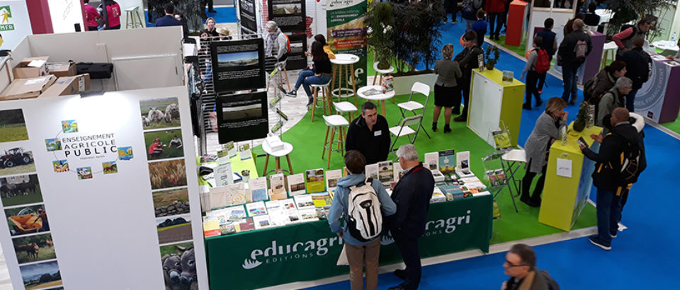 Educagri éditions au Salon International de l'Agriculture 2020
