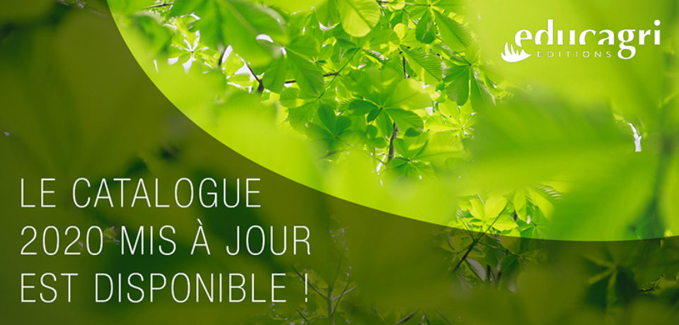Le catalogue 2020 d'Educagri éditions mis à jour