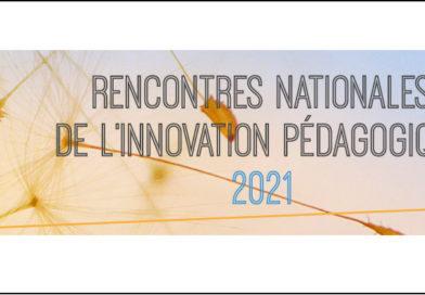 Rencontres nationales de l'innovation pédagogique 2021