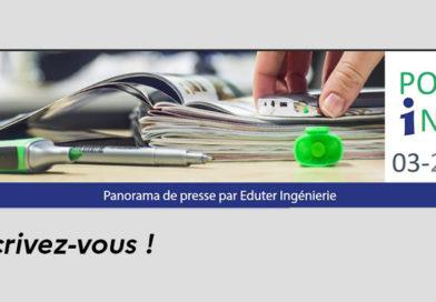 Panorama de veille d'Eduter Ingénierie : inscrivez-vous !