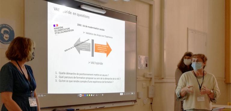 Eduter Ingénierie à la biennale de l'éducation et de la formation 2021