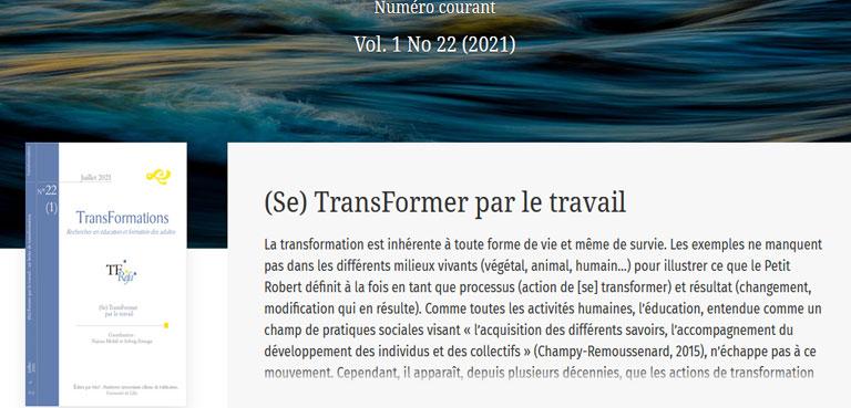 Comprendre le travail d'enseignants pour accompagner ses transformations dans l'enseignement agricole français